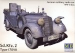 MB 3531 1/35 German military radio car