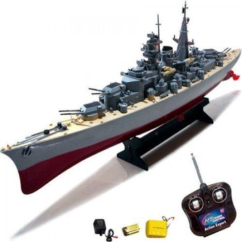 Okręt łódź Bismarck R C 1 360 łodzie Rc Czołgi łodzie