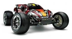 TRAXXAS NITRO RUSTLER SPALINOWY TSM - zestaw RTR auto