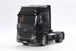 Mercedes Benz Actros Black Edition Tamiya 56342-B AUTO RC