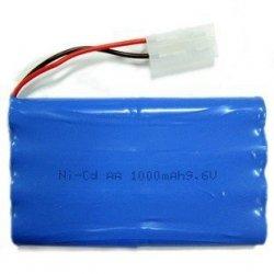 Akumulator Płaski 9,6V 600mAh NiCD