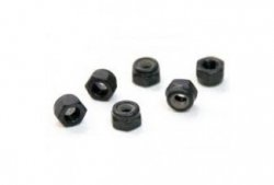 Nylon Nut M3*6pcs H02102