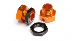 HPI 101792 6.7mm Hex Wheel Adapter Trophy Buggy (Orange/Black)