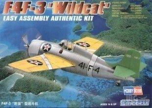 HOBBY BOSS 80219 1/72 F4F-3 Wildcat