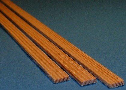 Listwa sosnowa - 3x10x1000mm