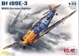 ICM 72131 1/72 Me Bf.109 E-3