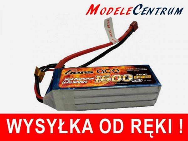 Akumulator Gens Ace 1600mAh 11.1V 40C 3S1P