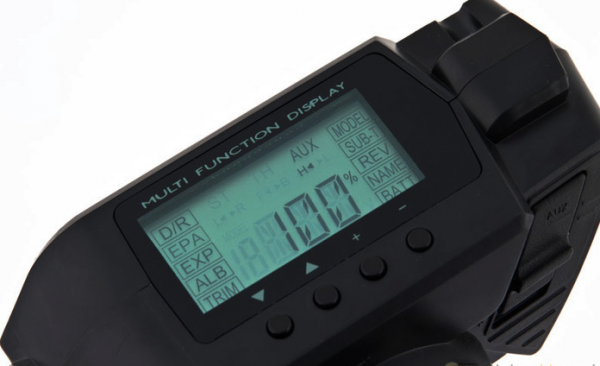 Aparatura samochodowa SANWA MX-V 2,4 GHz + RX-37E