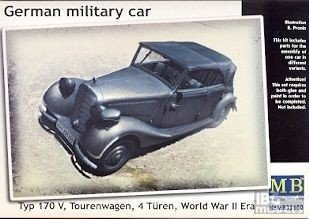 MB 35100 German military car