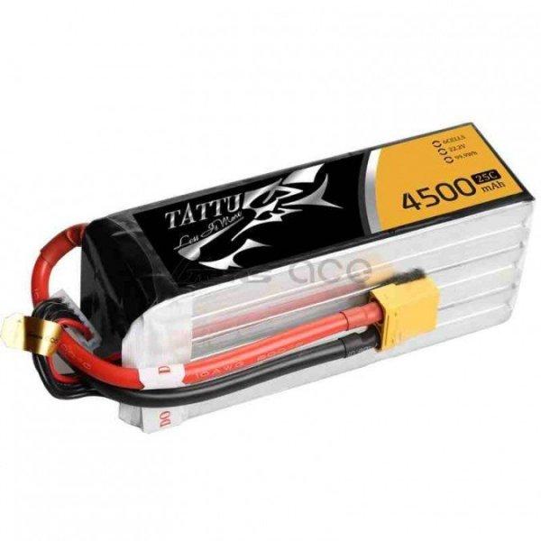 Akumulator Gens Ace: 4500mAh 22.2V 25C TATTU Gens