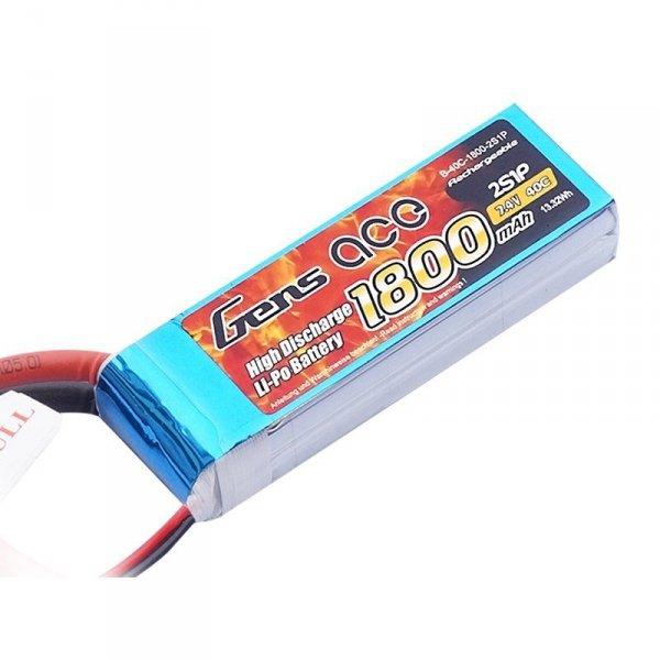 Akumulator  Gens Ace: 1800mAh 7.4V 40C