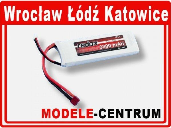 Akumulator Redox 7,4V 3300mAh  LiPo 30C