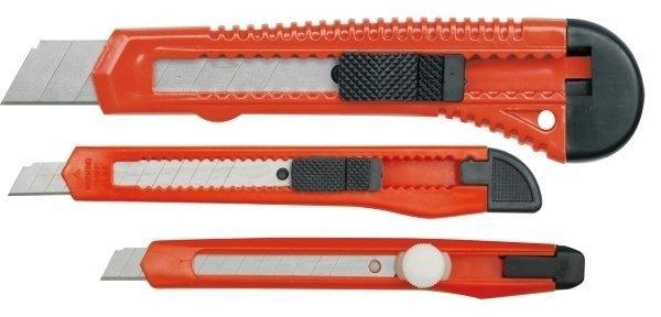 Nożyki z ostrzami łamanymi (3el)