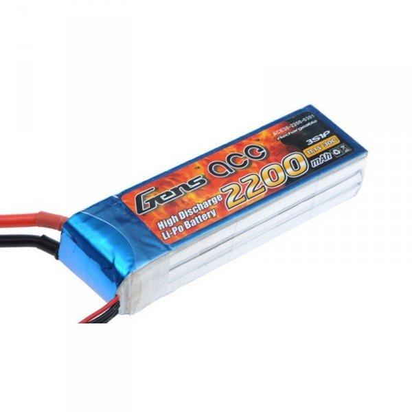 Akumulator Gens Ace: 2200mAh 11.1V 30C