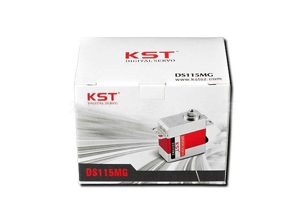 KST Serwo MINI DS115MG z metalowymi zębatkami