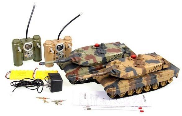 Zestaw wzajemnie walczących czołgów Czołg RTR 1/24
