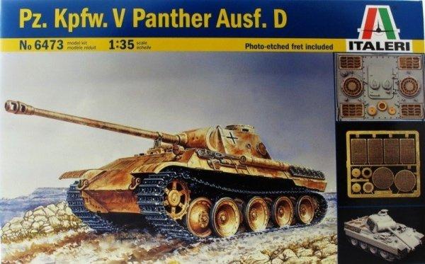 Italeri 6473 Panzer V Panther Ausf.D