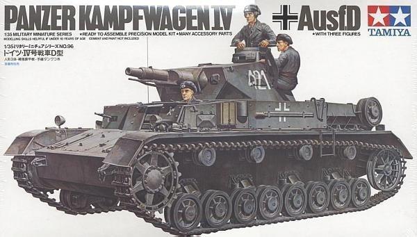 TAMIYA 35096 1/35 Pzkpfw IV Ausf.D