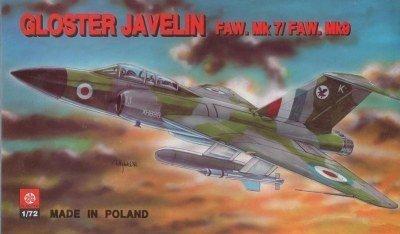 PLASTYK Gloster Javelin FAW.Mk. 7Mk.9 S 008