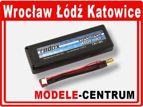Akumulator Redox RACING 4000 mAh 7,4V 50C
