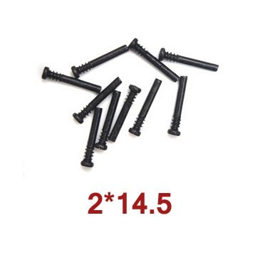 10szt Round Head Screw Steps 2x14.5 Wl Toys