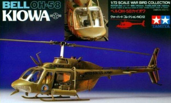 Tamiya 60712 1/72 Bell OH-58 Kiowa