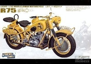 Lion Roar L3509 1/35 R75 Motorcycle WWII G