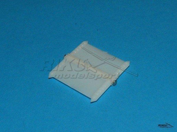 Zawias płaski plastikowy - 22 x 24mm