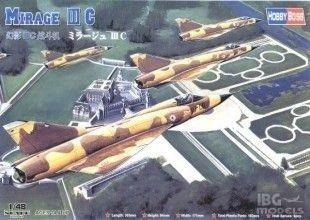 HOBBY BOSS 80315 1/48 Mirage IIIC Fighter