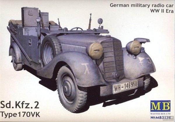 MB 3531 1/35 German military radio car