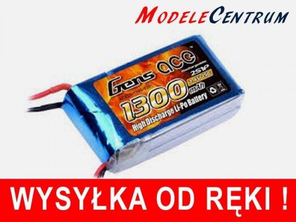 Akumulator  Gens Ace: 1300mAh 7.4V 25C
