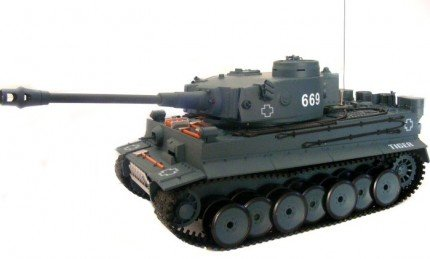 Czołg Tiger 1:18 RTR ASG (bardzo duży)