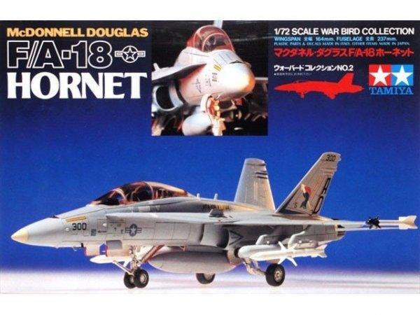 Samolot F/A-18 HORNET Tamiya 60702 1/72