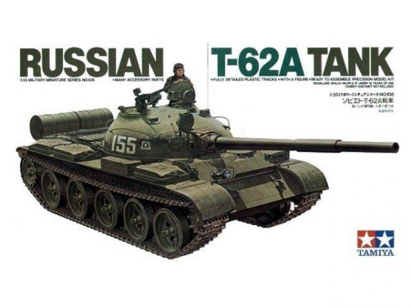 TAMIYA 35108 RUSSIAN TANK T-62A 1/35