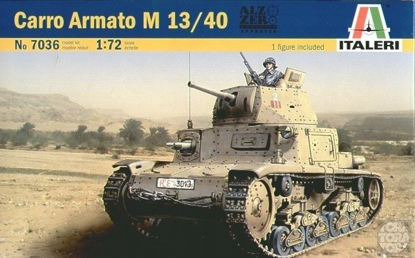 ITALERI Carro Armato M 13/40  1/72 7036