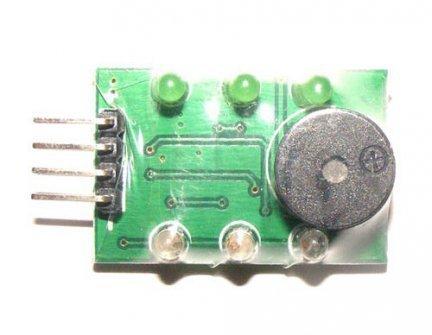 Tester z alarmem pakietów LiPo 1-3S