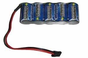Akumulator  6V 1600mAh NiMH - Płaski Pakie
