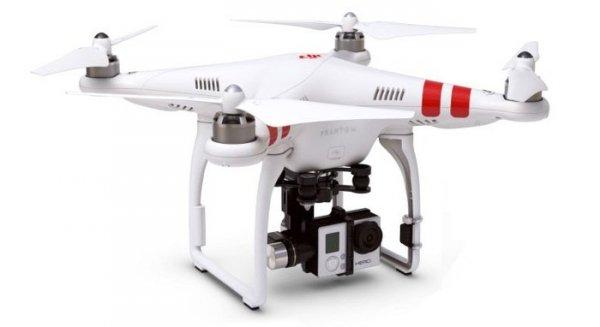 DRON DJI Phantom 2  GPS V2 NEW GPS + H3-3D
