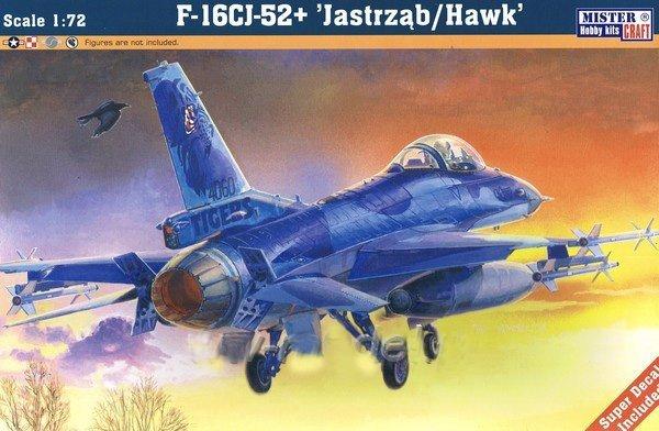 MASTERCRAFT F-16C-52 JASTRZĄB  D-116  (1:72)