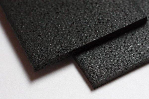 Czarna płyta pianka EPP 600 x 450 x 8 mm