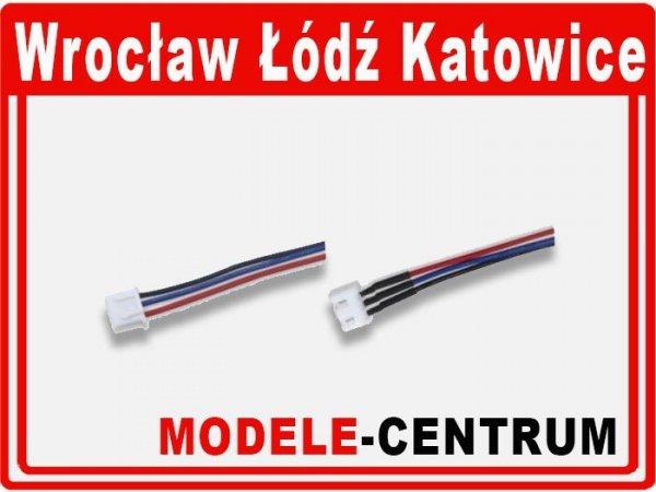 Para przewódow balancera 2S z kablem 10cm