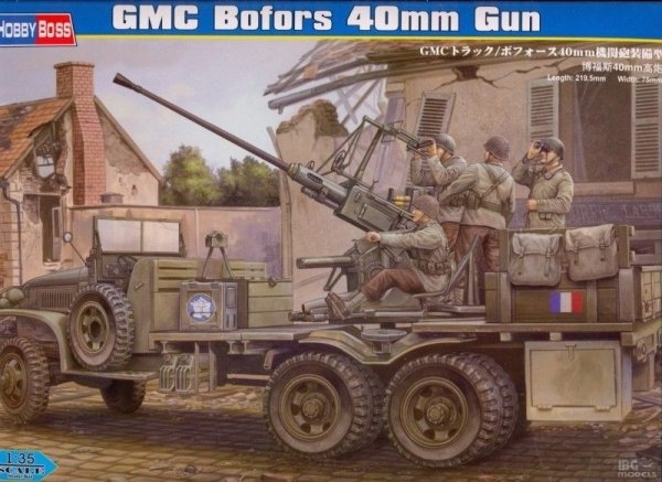 Hobby Boss 82459 1/35 GMC Bofors 40mm Gun