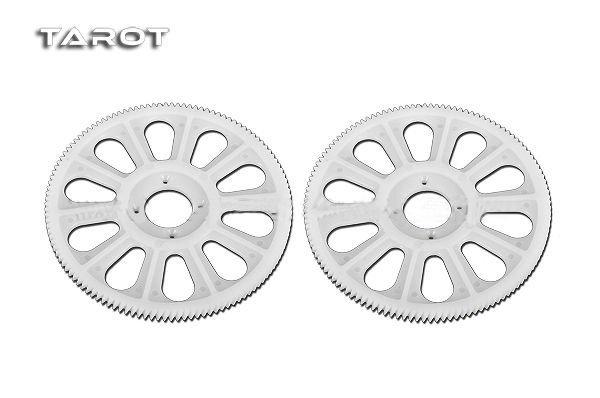 Tarot 450 V2/SPORT/PRO – Zębatka główna skośna biała (2)
