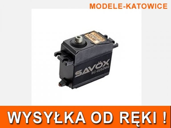 SAVOX SERWO CYFROWE SC0252MG