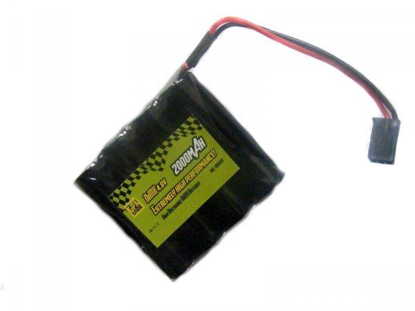 Akumulator GPX 2000mAh 4.8V NiMH JR- Płaski