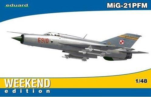 EDUARD 84124 1:48 MiG-21PFM Weekend Edition