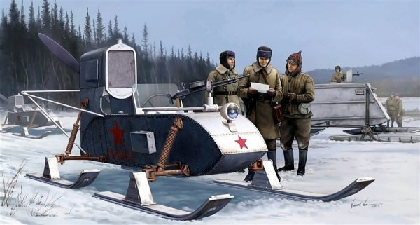 TRUMPETER 02322 1/35 Soviet Aerosan RF-8/