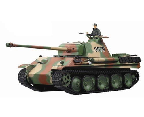 Czołg German Panther 1:16 + Dym Heng Long
