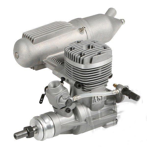 36A II (5,81cm3) Silnik ASP z tłumikiem