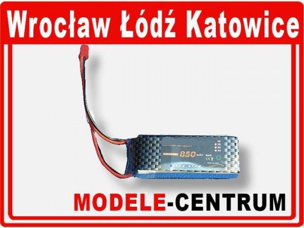 Akumulator bateria 11,1V 850mAh 3-cell Li-P 20 C T